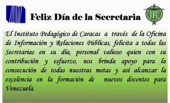 Felíz dia secretarias  (3)