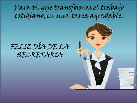 Felíz dia secretarias  (5)