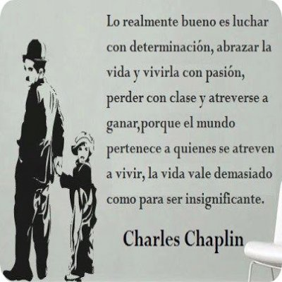 Frases Lindas De Charles Chaplin Sobre La Vida Para Compartir