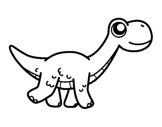 Dinosaurios para colorear dibujos (12)