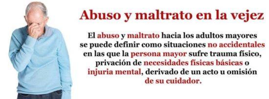 abuso y maltrato en la vejez