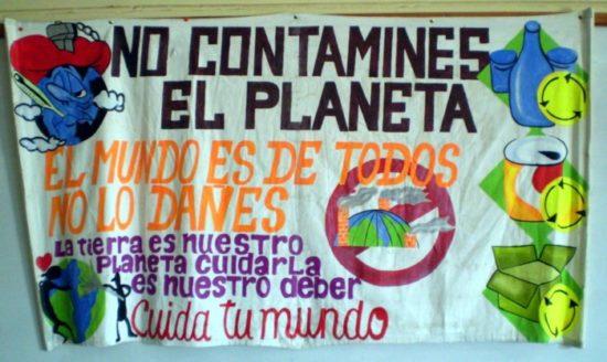 no contaminar, dia del medio ambiente