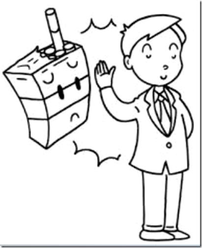 dibujos dia sin tabaco para niños (4)
