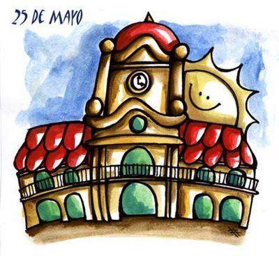 dibujos para niños  revolucion de mayo  (12)