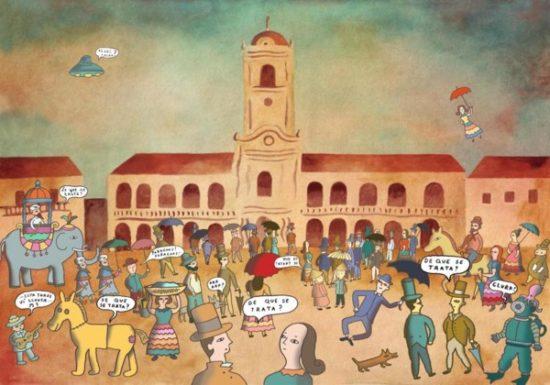 dibujos para niños  revolucion de mayo  (3)