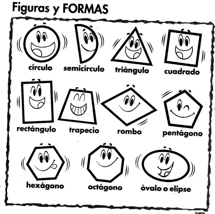 Imagenes De Figuras Geometricas Planas Para Ninos Para Imprimir Y