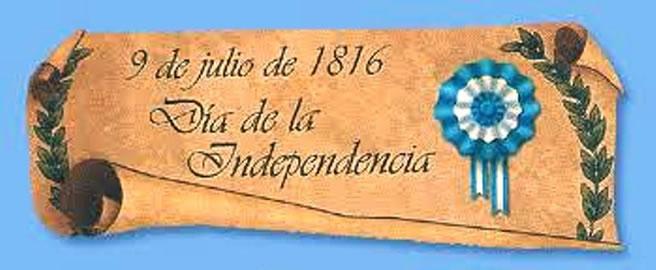 Im genes para el bicentenario de la independencia for Decoracion 9 de julio