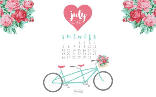 Calendario 2016 de Julio - descargar - imprimir (13)