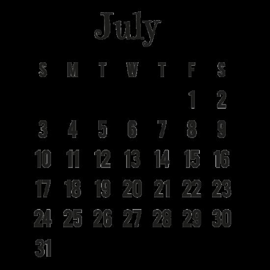 Calendario 2016 de Julio - descargar - imprimir (3)