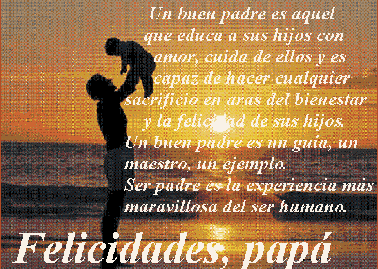 Poesia para el dia del Padre (1)
