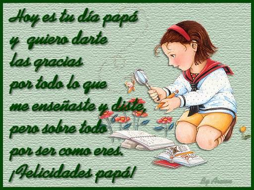 Poesia para el dia del Padre (7)