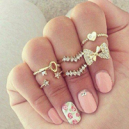 Uñas decoradas elegantes (2)