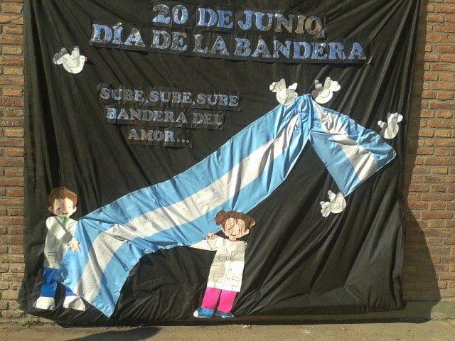 Manualidades del Día de la Bandera Argentina: adornos