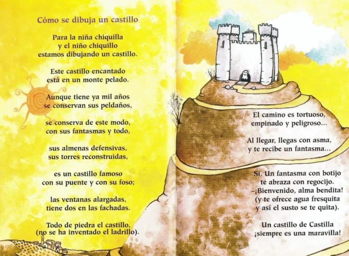 como-se-dibuja-un-castillo-gloria-fuertes