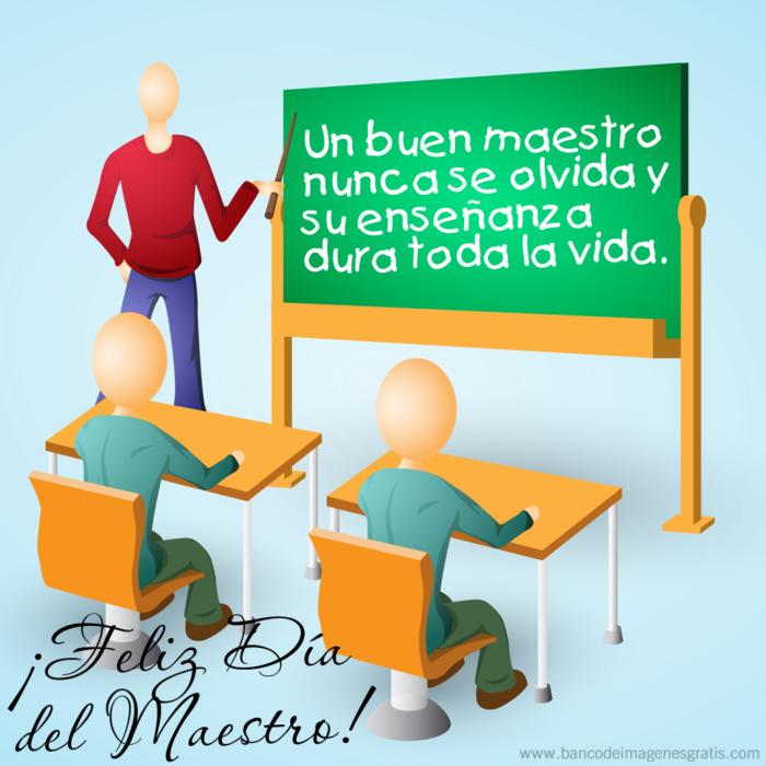 Día Del Maestro Mensajes Frases E Información Para