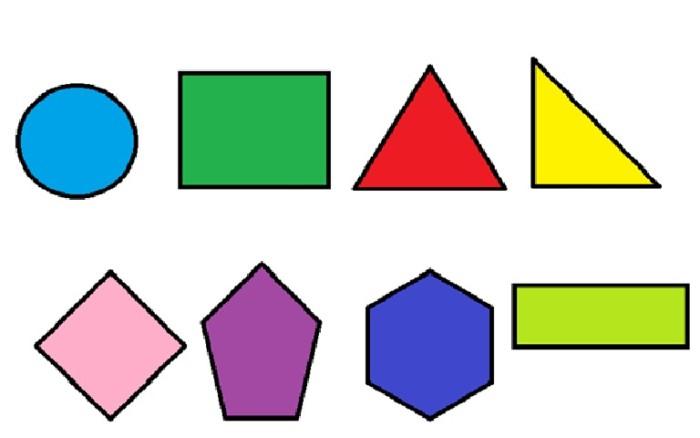 Imágenes de figuras geometricas planas para niños para