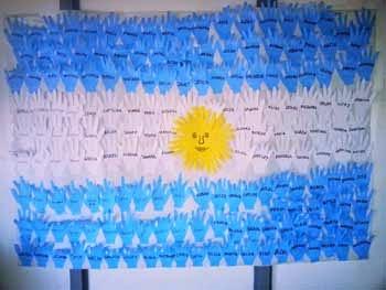 manualidades de banderas argentinas - 20 de junio (6)
