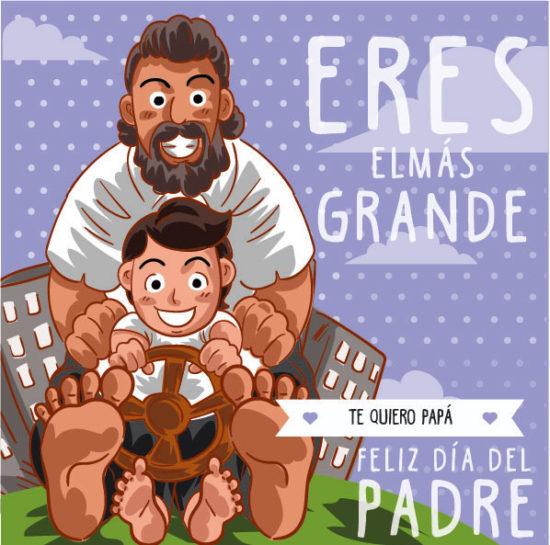 mensajes y felicitaciones del Día del Padre (2)