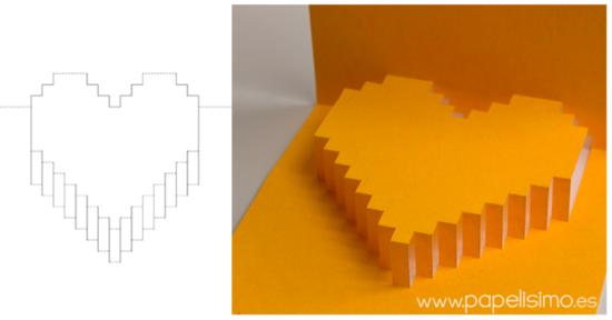 tarjetas de amor 3D - Pop up (1)