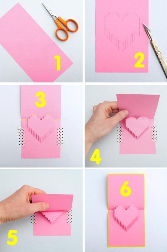 tarjetas de amor 3D - Pop up (14)