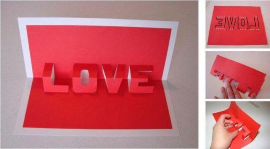tarjetas de amor 3D - Pop up (17)