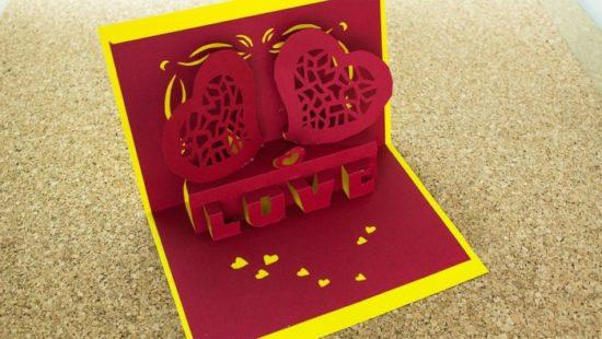 tarjetas de amor 3D - Pop up (4)