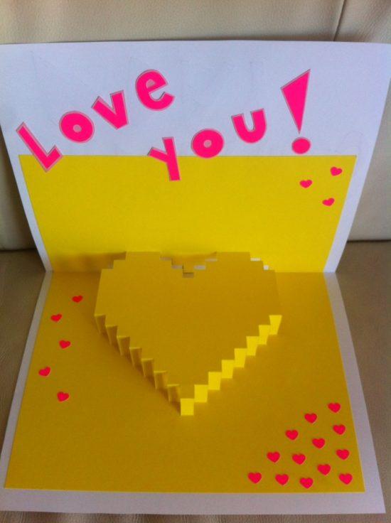 tarjetas de amor 3D - Pop up (5)