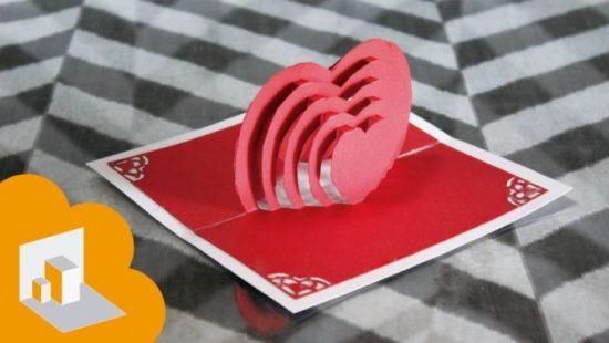 tarjetas de amor 3D - Pop up (6)