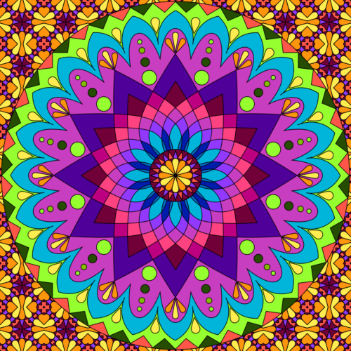 Mandalas de colores hermosos para descargar e imprimir - Mandalas en colores ...