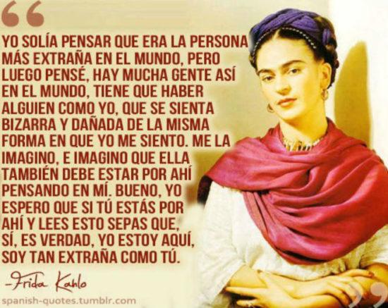 Frases y poemas de Frida Kahlo  (19)