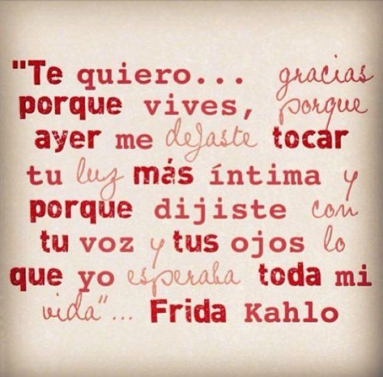 Frases y poemas de Frida Kahlo  (23)
