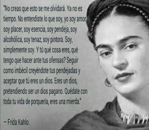 Frases y poemas de Frida Kahlo  (36)