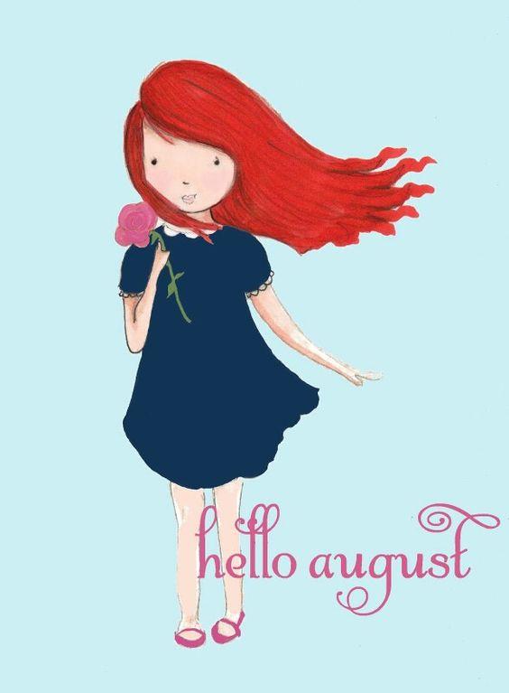 Imágenes De Bienvenido Feliz Mes De Agosto Con Frases