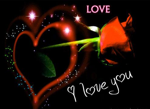 Imágenes De Amor Con Movimiento De Corazones Rosas Y