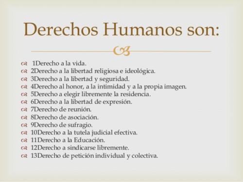 Imágenes De Los Derechos Humanos Declaración Qué Son Y