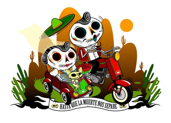 Imagenes De Calaveras Mexicanas Chidas Disenos De Dia De Muertos