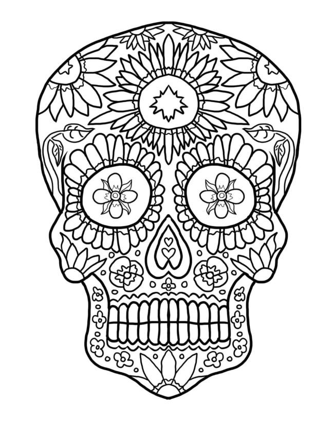 Imágenes de Calaveras Mexicanas chidas, diseños de día de muertos ...