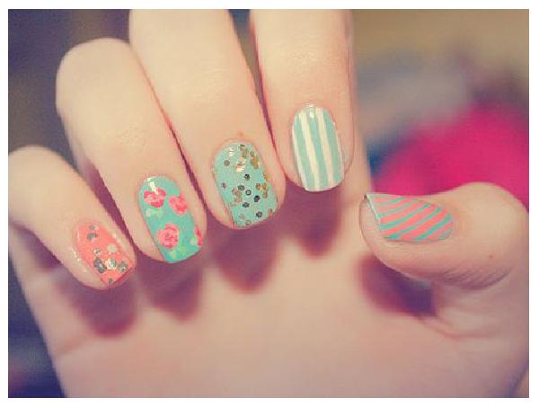Bonitos diseños de uñas decoradas [imágenes]   Información