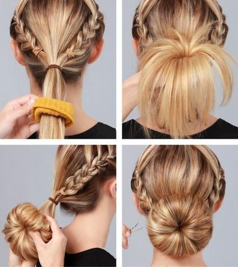 ideas-peinados-faciles-mono-con-trenzas