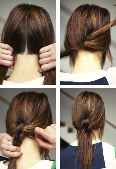 ideas-peinados-faciles-nudo-estilo-retro