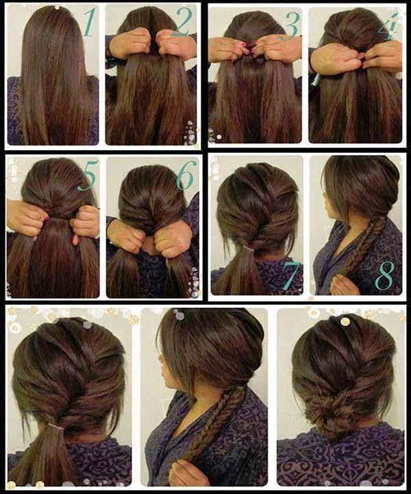 Peinados faciles de hacer uno solo