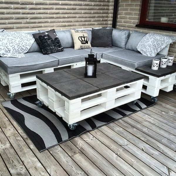 7022 Best Images About Outdoors On Pinterest: Imágenes De Muebles Con Palets, Sofas, Mesas, Camas, Ideas