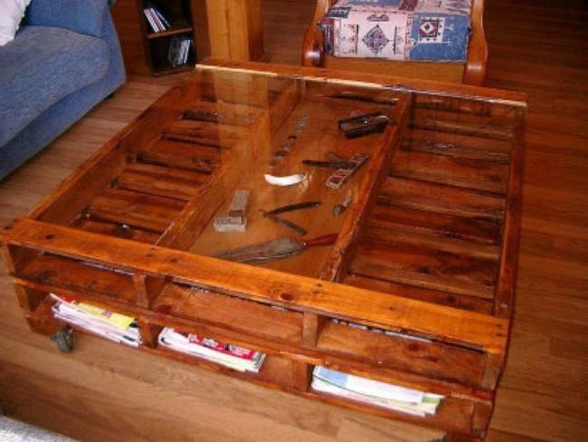 Im genes de muebles con palets sofas mesas camas ideas for Muebles realizados con palets