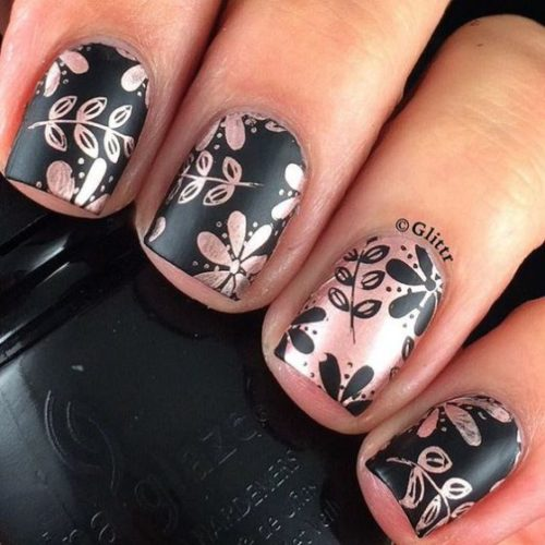 uñas-decoradas-con-estampados