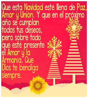Imagenes De Navidad Tarjetas Con Frases Y Mensajes Navidenos