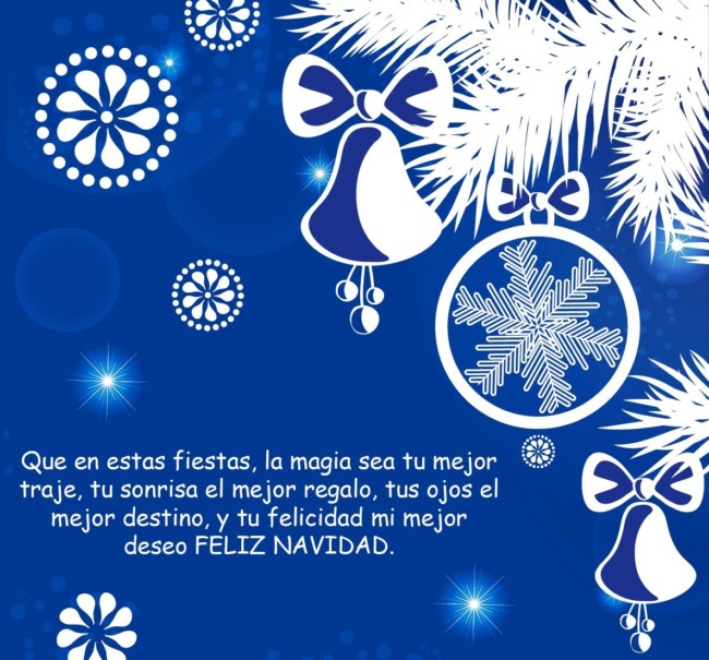 Imágenes De Navidad Tarjetas Con Frases Y Mensajes Navideños