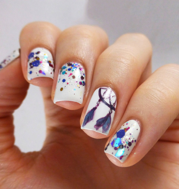 Imágenes de uñas decoradas cortas con bonitos diseños | Información ...