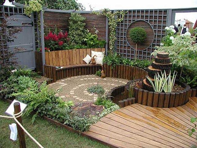 Diseño y decoracion de jardines modernos, pequeños o verticales ...