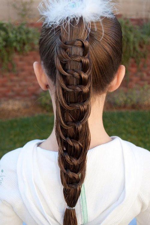 Peinados Casuales Para Nina De Cabello Largo Peinados Populares En