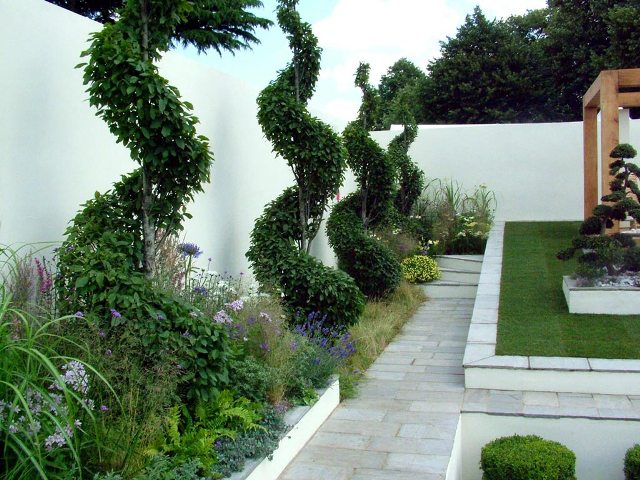 Diseno Y Decoracion De Jardines Modernos Pequenos O Verticales - Jardines-modernos